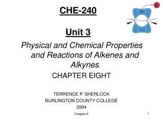 CHE-240  Unit 3