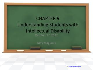 CHAPTER 9 Understanding Students with Intellectual Disability