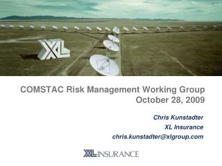 COMSTAC Risk Management Working Group October 28, 2009