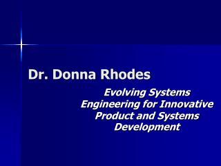Dr. Donna Rhodes