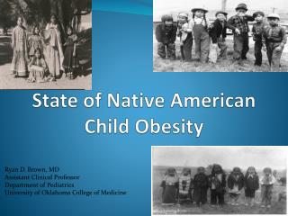 State of Native American Child Obesity
