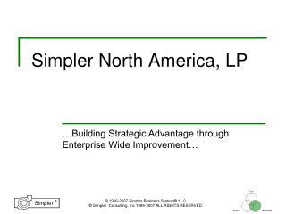 Simpler North America, LP