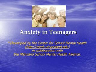 Anxiety in Teenagers