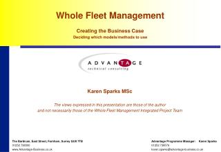 Whole Fleet Management