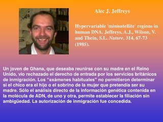 Alec J. Jeffreys