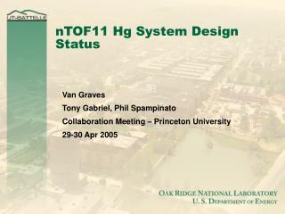 nTOF11 Hg System Design Status