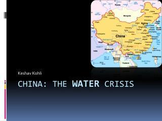 China: The Water Crisis