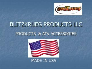 BLITZKRUEG PRODUCTS LLC