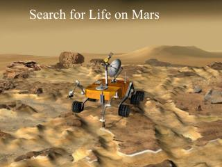 Search for Life on Mars