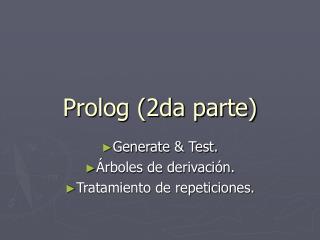 Prolog (2da parte)