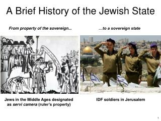 A Brief History of the Jewish State