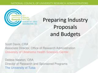 Preparing Industry Proposals  and  Budgets