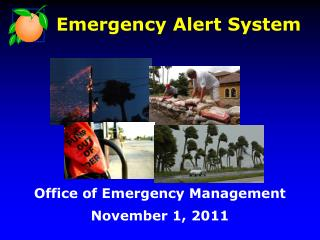 Office of Emergency Management  November 1, 2011