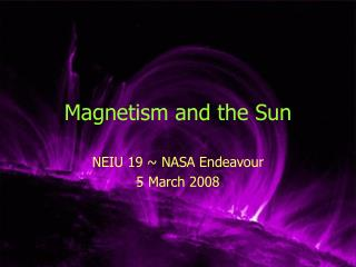 Magnetism and the Sun