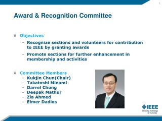 Award & Recognition Committee