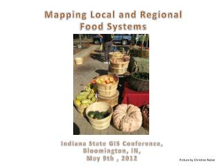 Mapping Local and Regional  Food  Systems
