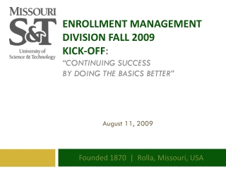 Freshman Academy 2009-2010