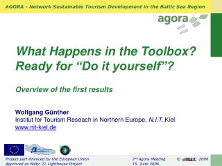 Role of the Toolbox in agora