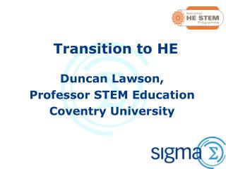 Transition to HE