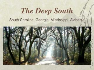 The Deep South