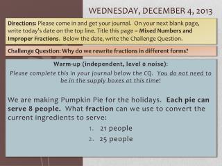 Wednesday, December 4, 2013