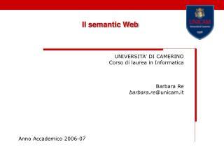Il semantic Web