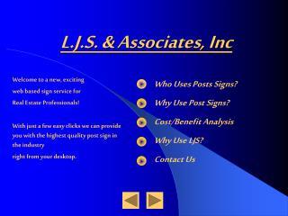 L.J.S. & Associates, Inc