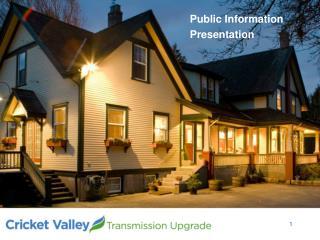 Public Information Presentation
