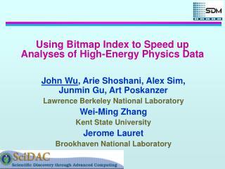 Using Bitmap Index to Speed up Analyses of High-Energy Physics Data