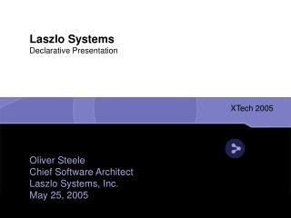 Laszlo Systems Declarative Presentation