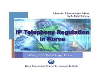 IP Telephony Regulation  in Korea