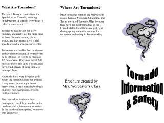 Tornado Information & Safety