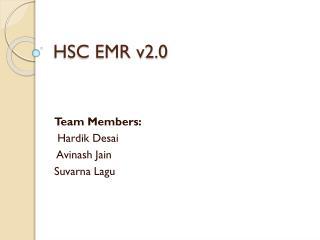 HSC EMR v2.0