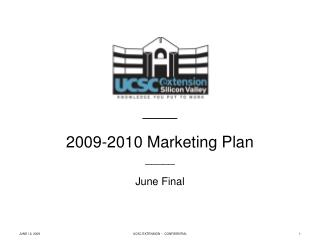 _____ 2009-2010 Marketing Plan _____ June Final