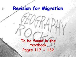 Revision for Migration