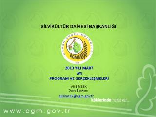 Ali ŞİMŞEK       Daire Başkanı