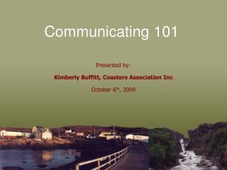Communicating  101
