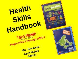 Health Skills Handbook