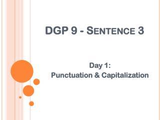 DGP 9 - Sentence 3