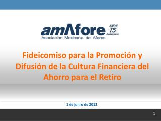 Fideicomiso para la Promoción y Difusión de la Cultura Financiera del Ahorro para el Retiro