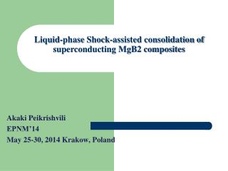Liquid-phase Shock-assisted consolidation of superconducting MgB2 composites