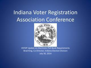 Indiana Voter Registration Association Conference