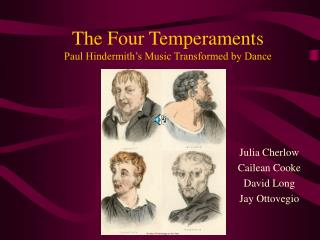 The Four Temperaments Paul Hindermith s Music Transformed by Dance