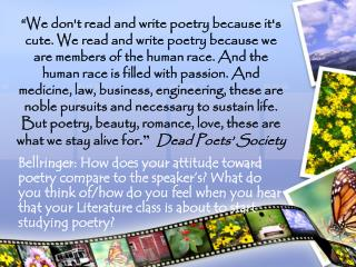 Poetry Unit 8 th  Grade GRC