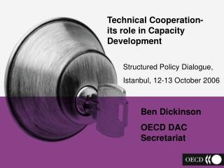 Technical Cooperation-  its role in Capacity Development