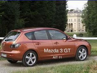 Mazda 3 GT AIT 11