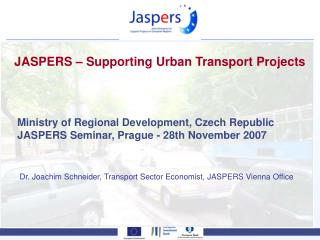 JASPERS � Supporting Urban Transport Projects
