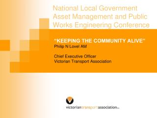 National Local Government Asset Management and Public Works Engineering Conference
