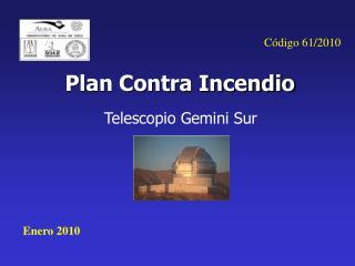 Plan Contra Incendio
