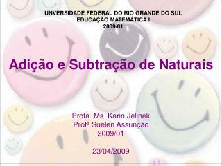 Adição e Subtração de Naturais